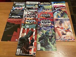 Large DC Comic & Comic Book Bundle Job Lot Batman Detective Green Lantern