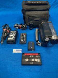 Sony DCR-TRV480 Digital 8 Hi-8 8mm Tape Player Camcorder 990x Zoom Tape Transfer