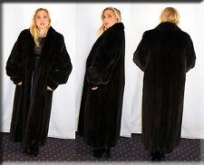 New Ranch Mink Fur Coat Size Extra Large XL 14 16 Efurs4less