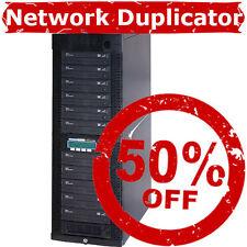 Kanguru 11 24X Network LAN CD DVD Duplicator Copier + Built-In 500GB HDD + USB