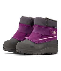 The North Face // Toddler Alpenglow Boots [DARK GULL GREY/WOOD VIOLET] #99633190