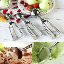 Ball Shaped Ice Cream Scoop Stainless Steel Mashed Potatoes Ice Cream Spoon Ball