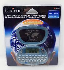 Lexibook European 8 Language Translator Ntl800 New
