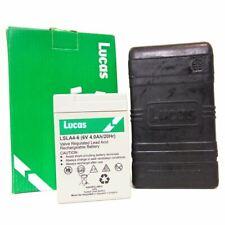 Lucas Battery box B49-6 With 6V 4AH AGM Battery