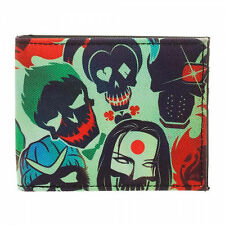 DC Suicide Squad Skulls Bi-Fold Wallet NEW Accessories Money Holder