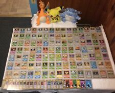 COMPLETE BASE SET 2 POKEMON CARDS 130/130 IN EXC/NEAR MINT CONDITION *BEST PRICE