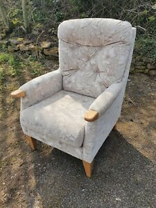 Quality Fireside Armchair - Easy Chair By Cintique!!