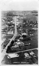 Photo. 1949-51.  Langley Prairie, BC Canada. Sky View Fraser Hwy