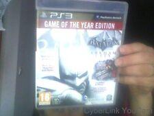 Batman : Arkham City - édition jeu de l'année jeu PS3