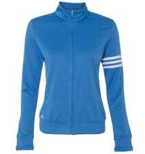 Adidas Golf Women's Climalite 3-Stripes Full Zip Oasis-Jacket, Size M