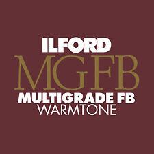 "New Ilford MGIV FB Warmtone 16x20"" Glossy Darkroom Monochrome Paper 50 Sheets"
