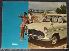1958 Consul English Ford Sales Brochure Folder US Market Nice Original 58