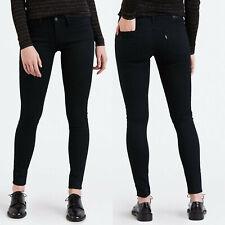Levi's Premium 710 super Skinny schwarz Damen Jeans W27 L32