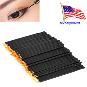 EZGO Makeup Disposable Eyeliner Brushes Wand Applicator Cosmetics
