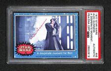 Alec Guinness Obi Wan Kenobi 1977 Topps Star Wars Signed Autographed Card Rc Psa