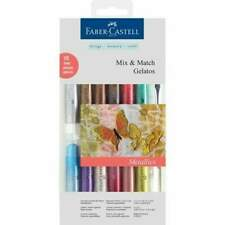 Faber Castell gelatos Mix und Match Crayon Metallic wasservermalbare Kreiden