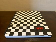 "Vans off The Wall Family Exclusive Black & White Checkerboard 8.5""X11"" Notebook"
