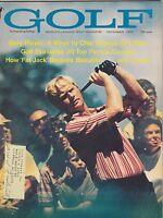 DEC 1970 GOLF vintage golfing magazine JACK NICKLAUS