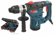 HEAVY DUTY SILVERLINE 1500W SDS ROTARY IMPACT 240V HAMMER DRILL 3 FUNCTION