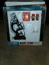 New listing Vintage Korvettes Magni Scope Microscope Set Model Ka 2 magnifies up to 600 x