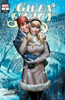 SOLD OUT - GWEN STACY #1 - J SCOTT CAMPBELL WINTER COVER (UNSIGNED)