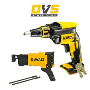 DeWalt DCF620N 18V Cordless Drywall Screwdriver & DCF6202 Collated Attachment