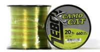 2 Count Zebco Camo Cat 660 Yards 20 Lbs High Visibility Fishing Line