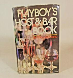 Vintage Playboy's Host & Bar Book by Thomas Mario  1971