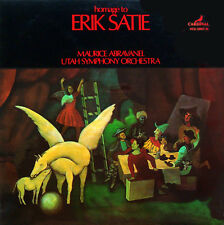 Abravanel: Homage to Erik Satie (orch. works) - Vanguard VCS 100378/38 (2LP set)