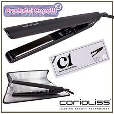 CORIOLISS C1 Piastra per Capelli Professionale in Titanio CLASSIC BLACK EDITION