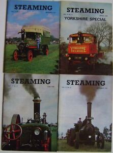 Steaming Magazine Volume 21 complete in 4 issues 1977 - 1978