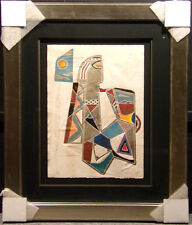 """Neal Doty""""The Earth Mother Spaceship Blows""""H.Signed Artwork MAKE AN OFFER framed"""