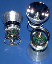 3 X Bulbo Xenon 9.0 V. Compat. Surefire Nitrolon G2 - G3 e 6P - 9P - 125 Lumen.