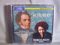 Franz Schubert- Klavierwerke- Patricia Pagny- NOVALIS 1996 OVP