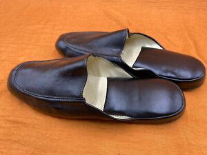 """Herren Leder Hausschuhe, Mens Leather Slippers """"Flavio Castelliani"""" D 43 - 43,5"""