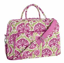 NWT VERA BRADLEY Weekender Bag in Julep Tulip Carry On Travel Trolley Sleeve NEW