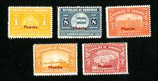 Honduras Stamps # 336-340 VF Specimen Set OG NH
