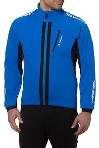VAUDE Herren Kuro Radsport Softshelljacke Outdoor Jacke blau Gr. S -neu-