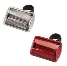 SILVERLINE 5 LED BIKE LIGHTS PAIR FRONT & REAR SET