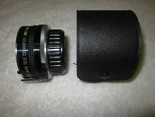 COSINA 2X  AUTO TELECONVERTER FOR MINOLTA MD MOUNT  WITH CASE