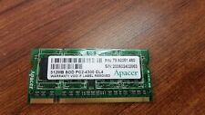 APACER 78.92051.460 512MB SOD PC2-4300 CL4 MEMORY