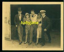MARION DAVIES RAMON NOVARRO CONRAD NAGEL MONTY BELL VINTAGE 8X10 PHOTO 1926