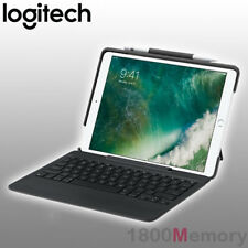 "GENUINE Logitech Slim Combo Backlit Keyboard Case for Apple iPad Pro 10.5"" Black"