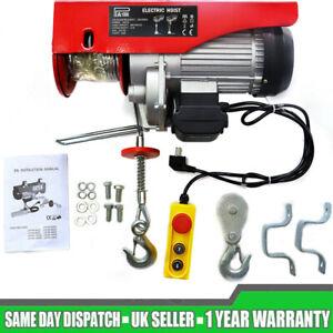 Scaffold Winch Electric Workshop Garage Gantry Hoist Lifting Tools 500-1000KG