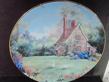1990 English Country Cottages Gamekeeper'S Cottage Marty Bell Ltd Ed Plate Mib