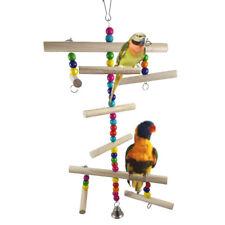 Eg _ Animal Jouet Balance Oiseau Perroquet Corde Harnais Cage Hang pour Perruche
