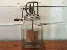 Antique Vintage Dazey #40 Glass Butter Churn Pat. Feb 14, 1922 St Louis, Mo.