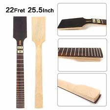 7string Electric Guitar Neck Maple 22 Fret 25.5inch Rosewood Fretboard #CD9