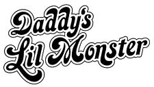 Daddy's Lil Monster Iron On Transfer For T-Shirt & Other Light Color Fabrics #25