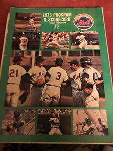 1973 New York Mets Program NL Championship Season Shea
